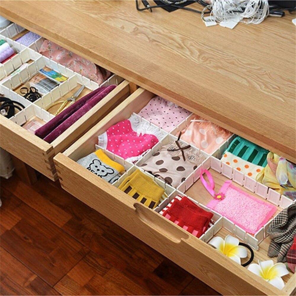 6 шт. ящик-сетка, сделай сам, разделитель, предметы первой необходимости, органайзер для хранения, пластиковый разделитель для стола, ящика, шкафа, компактные инструменты