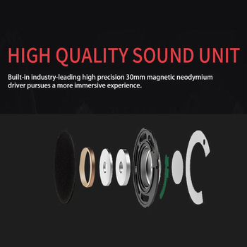 kebidu 3.5mm Noise Cancelling Wired Headphones Microphone Universal USB Headset With Microphone For PC /Laptop/Computer 5