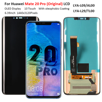 Original OLED Display For Huawei Mate 20 Pro LCD Display Touch Screen Digitizer Assembly Replacement For Huawei Mate 20 Pro LCD