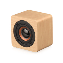 KIITO Y6 Wooden Bluetooth Mini Speaker 1200mAh High Power Wireless Subwoofer Portable Wireless Bluetooth Speaker smartphone infrared wireless speaker bluetooth laser projection virtual invisible keyboard high tech electronics