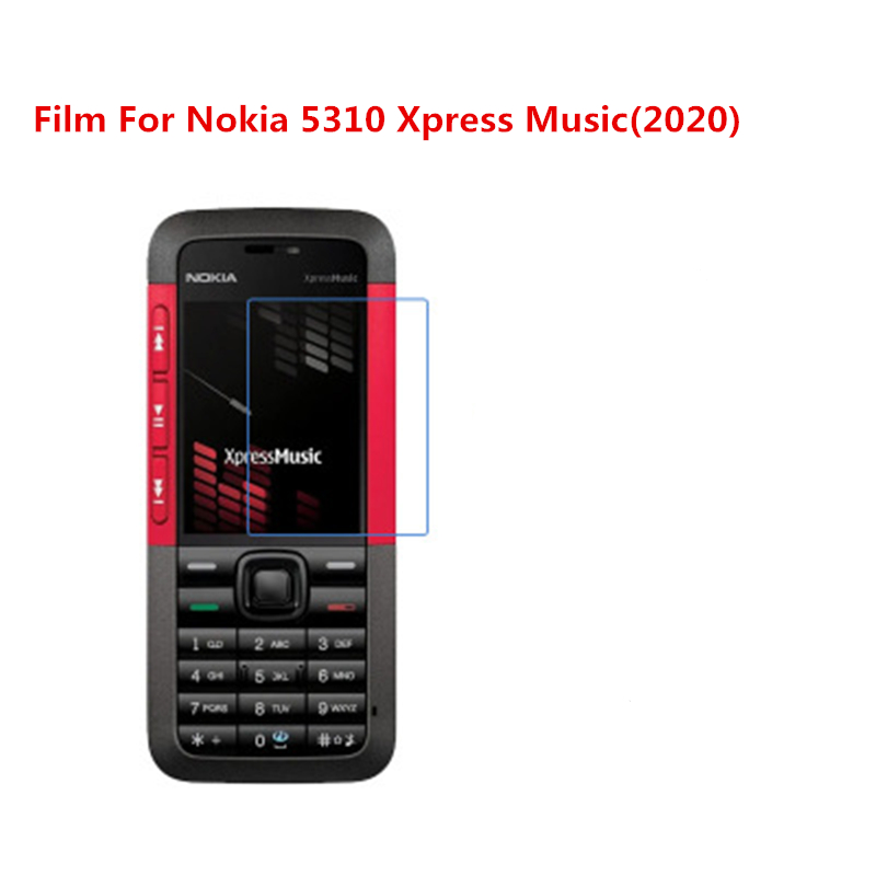 1/2/5/10 Pcs Ultra Thin Clear HD LCD <font><b>Screen</b></font> Protector Film With Cleaning Cloth Film For <font><b>Nokia</b></font> <font><b>5310</b></font> Xpress Music(2020). image
