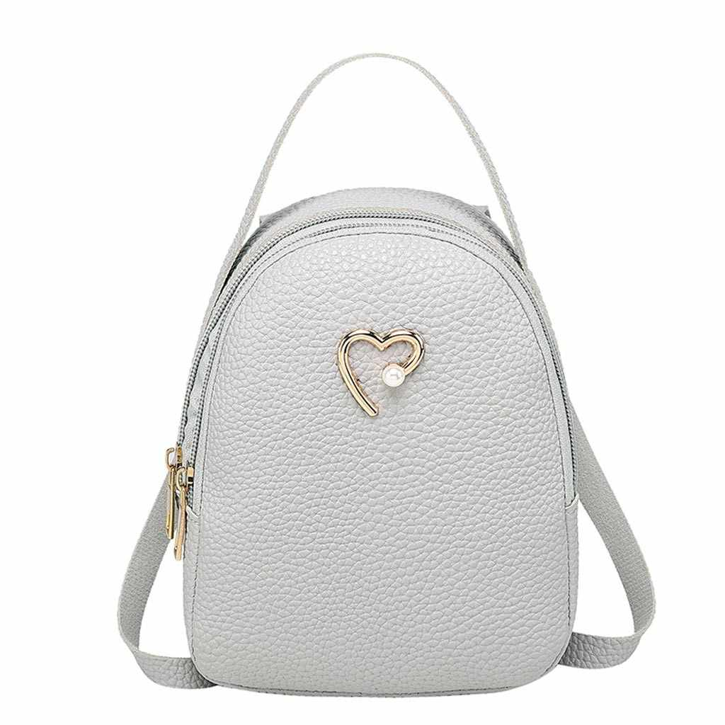 Purse Mobile Phone Women Casual Vintage Shoulders Small Backpack Letter Female Outdoor New Ladies Girls Messenger Bag Dropship