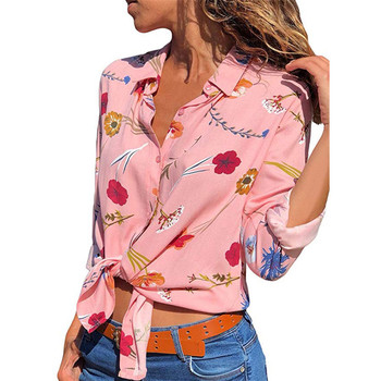 Ladies Blouses shirt Long sleeve blouse women tops flower blouse floral ladies chiffon blouse tops office female blouse shirts