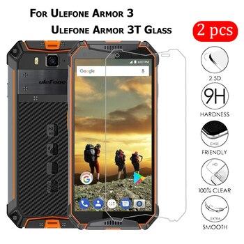 Перейти на Алиэкспресс и купить 2 шт для Ulefone Armor 3 закаляющее стекло Защита экрана Защита от царапин ЖК-пленка для Ulefone Armor 3W 3T стеклянная крышка для телефона 5,7дюйм