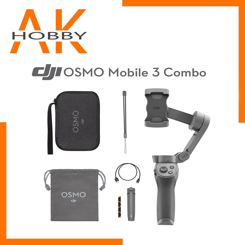 In Stock DJI Osmo Mobile 3/Osmo Mobile 3 Combo Is A Foldable Gimbal For Smartphones With Intelligent Functions