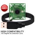 ELP 640*480 VGA USB2.0 OmniVision OV7725 цветной CMOS 100 градусов широкоугольный M7 Объектив USB модуль камеры для indurstrial машин