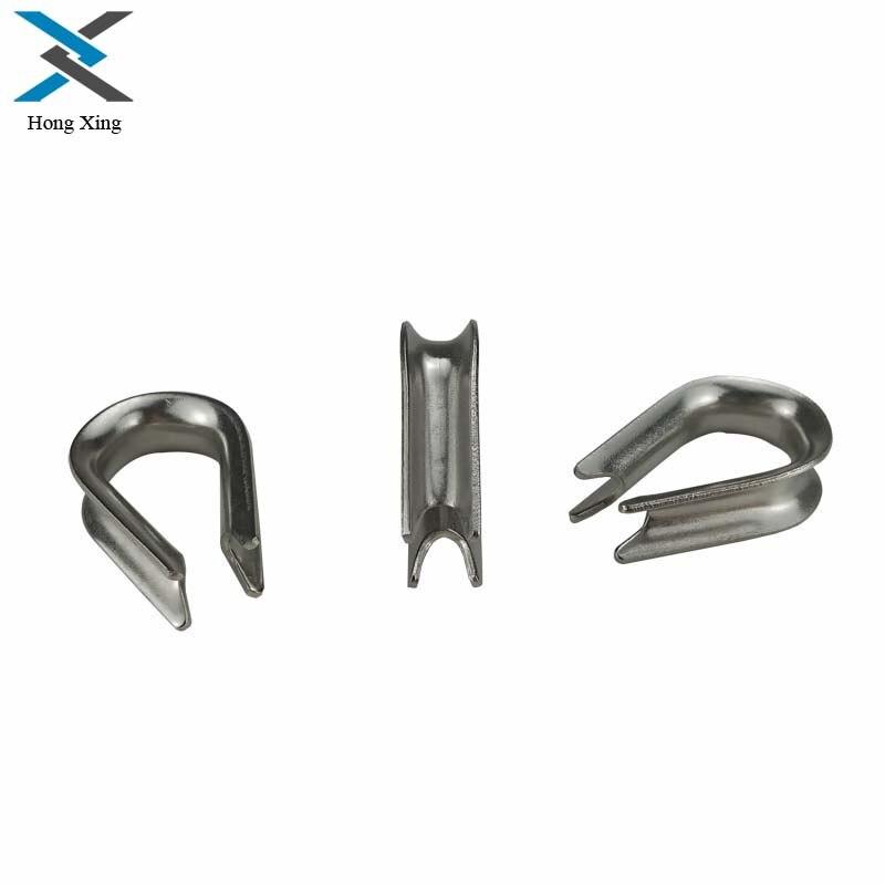 10 pièces 304 acier inoxydable M1.5 à M8 argent câble fil cosses matériel de gréement