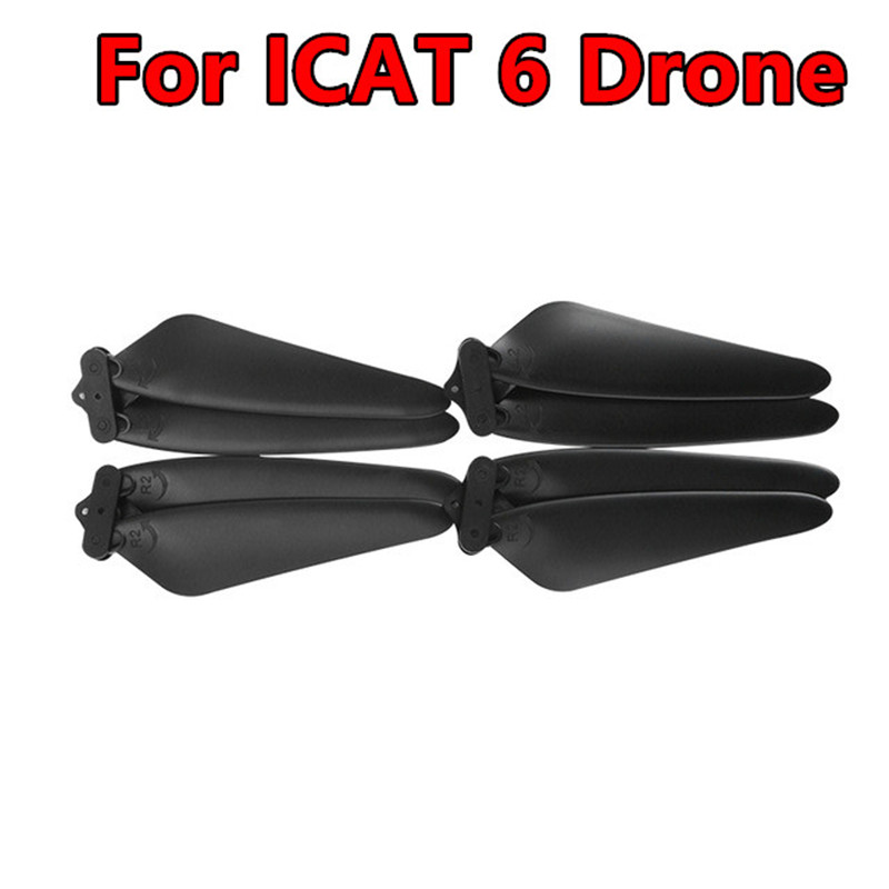 Original ICAT6 Drone Propeller Blades Spare Parts For <font><b>SMRC</b></font> ICAT6 Drone Quadcopter Helicopter Accessories image