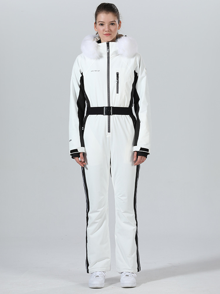 Ski Suit Women One-piece Ski Jacket Women Ski Jumpsuit Snowboard Suits Winter Sport Suit Skiing Snowboarding Set Snow Clothes