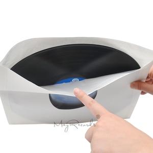 Image 3 - 20PCS Nuovo di Alta Qualità Dei Pesi Massimi Anti statica Bianco Poly foderato Kraft di Carta Per 12 LP Record vinile Interno Maniche