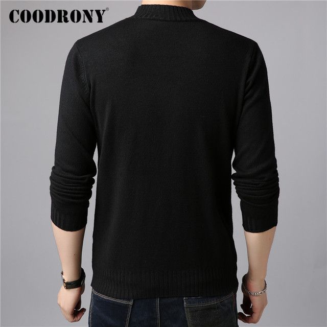 Brand Sweater Casual Winter Thick Warm Sweaters Soft Knitwear 2