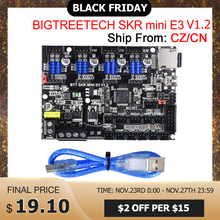 "BIGTREETECH SKR מיני E3 V1.2 בקרת לוח 32Bit עם TMC2209 UART VS TMC2208 עבור אנדר 3 פרו/5 SKR v1.3 E3 מח""ש 3D מדפסת חלקי"