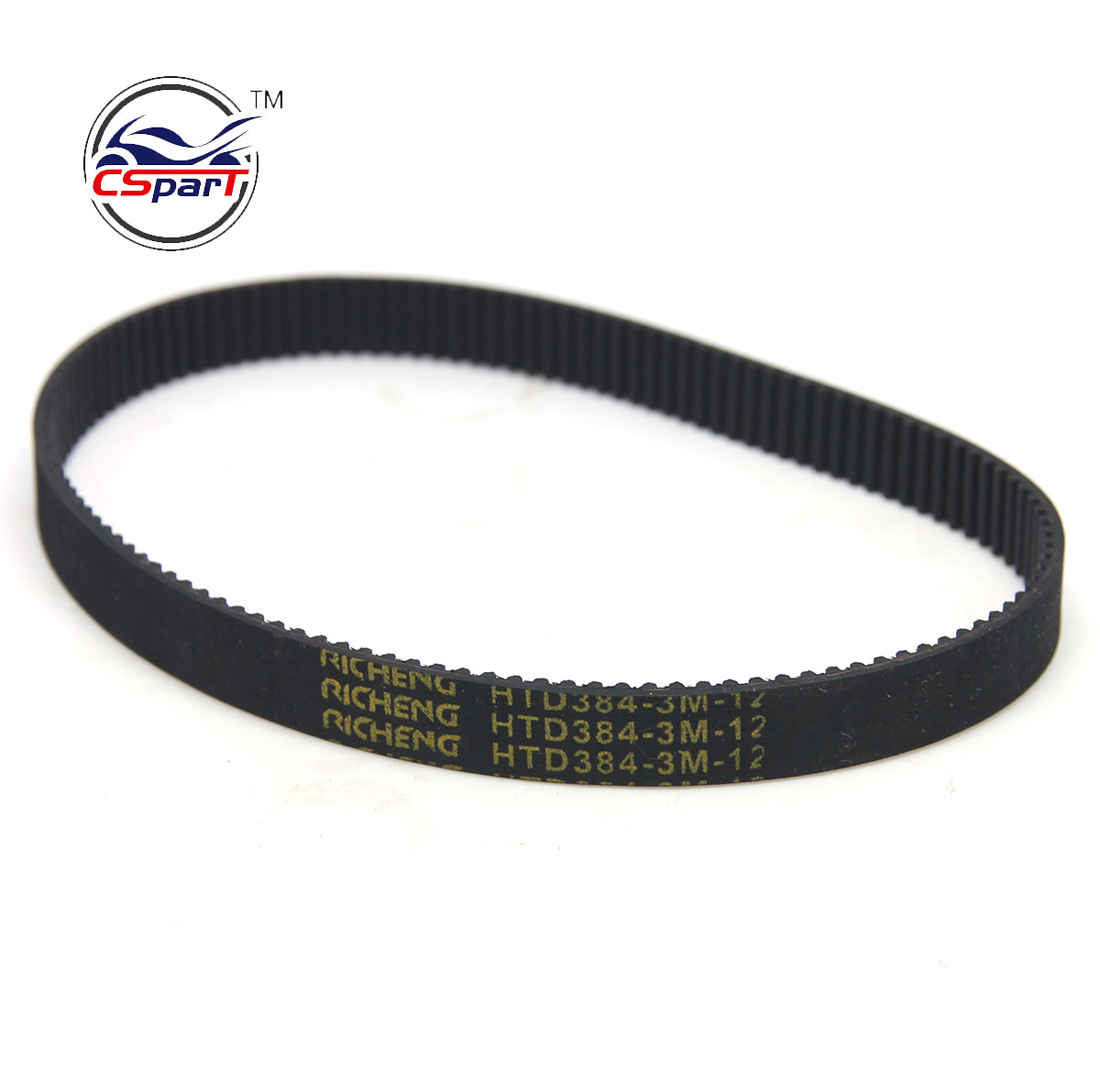 HTD 3M 384 12 128 Tooth Drive Belt Rocket  X-Treme Razor lzip EVO Electric Scooter Go Ped  Petrol Scooter Parts