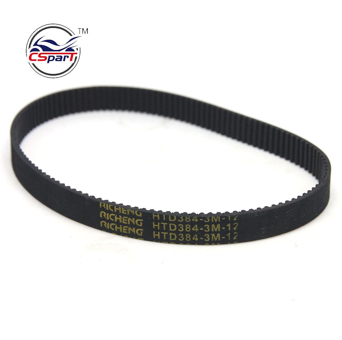 Electric Scooter Rubber Transmission Belt 3m-384-12 Timing Drive Belt Practical