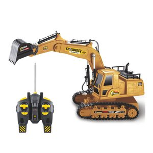 2.4G 1:18 RC Excavator Engineering Tractor Truck Toys Boys Simulation Remote Control Car Model Toy for Children New Year Gift