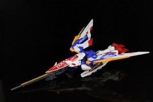 Image 4 - BANDAI MG 1/100 Model Wing Gundam Ver. Ka Kaart Versie Vliegende Vleugel Gemonteerd Tot Action Toy Figures