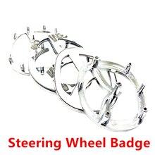 Высокое качество ABS хромированные серебро 3D V логотип для Mazda рулевое колесо значок эмблема, логотип, наклейка на автомобиль Средства для укл...
