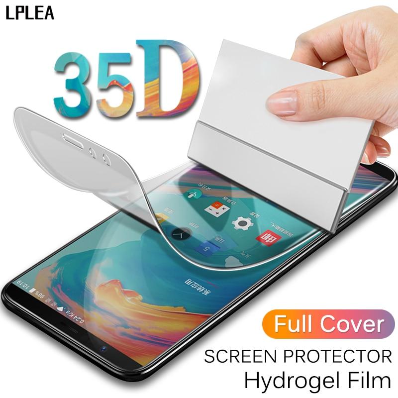 35D Передняя и задняя Гидрогелевая пленка для Samsung Galaxy S8 Защитная пленка для экрана S9 S10 Plus Lite Note 8 10 Plus 9 мягкая пленка (не стекло)