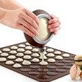 Силиконовая форма для выпечки коврик макарун Торт Кондитерские 30 полости DIY форма выпечки Мат Кухонные Приборы для выпечки