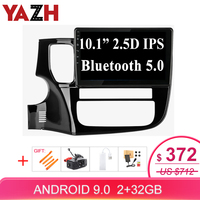 """5 3 YAZH Android 9.0 Pie 10.1""""IPS Auto Radio Multimedia For Mitsubishi Outlander 3 2013-2018 With Screen Mirroring Bluetooth 5.0 SWC (1)"""