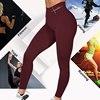 2020 Push Up Letter Print Leggings Women Workout Leggings Slim Leggings Polyester High Waist Jeggings Women Pencil Pants 5