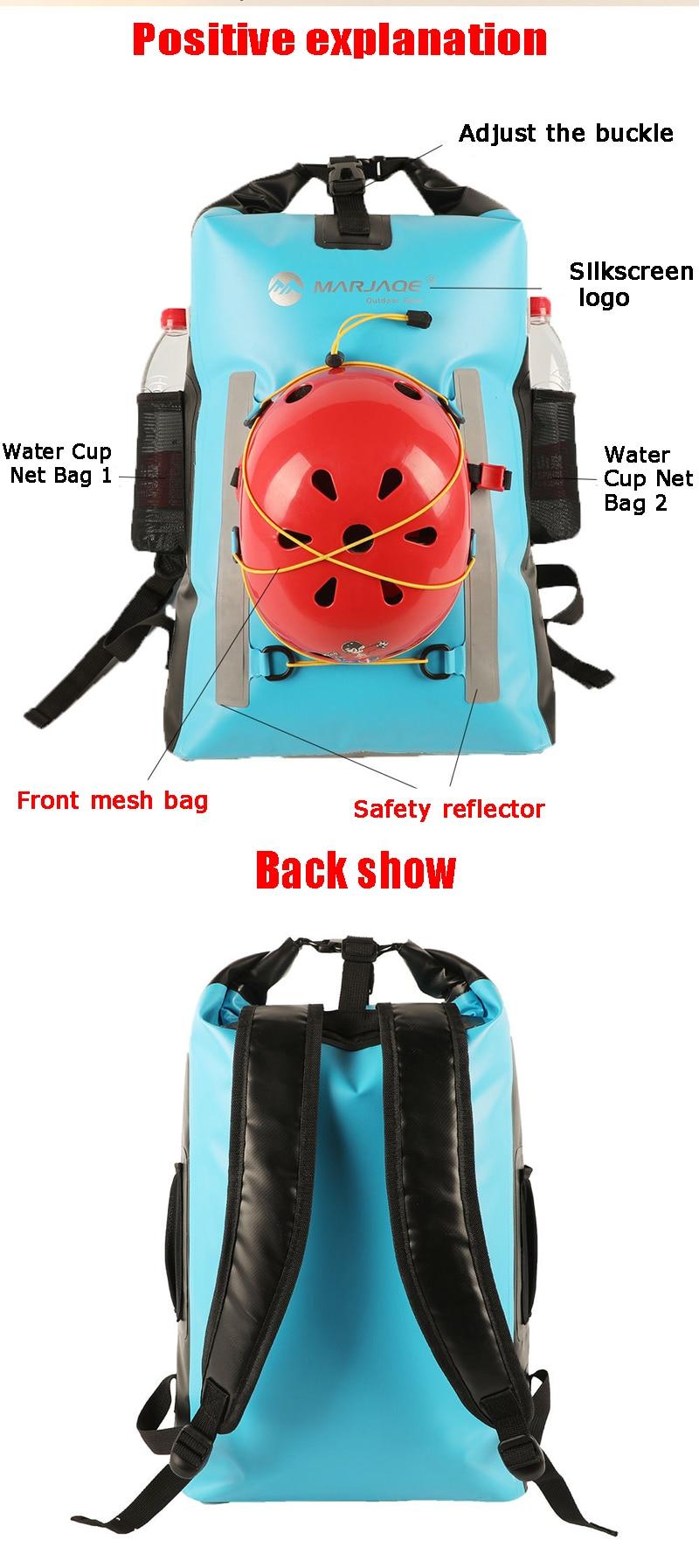caiaque rafting grande multifuncional sacos de armazenamento