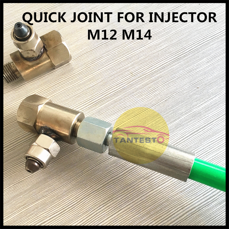 Quick Connect Joint For High Pressure Common Rail Injector, Common Rail Tube Conversion Joint To The Injector, Common Rail Parts