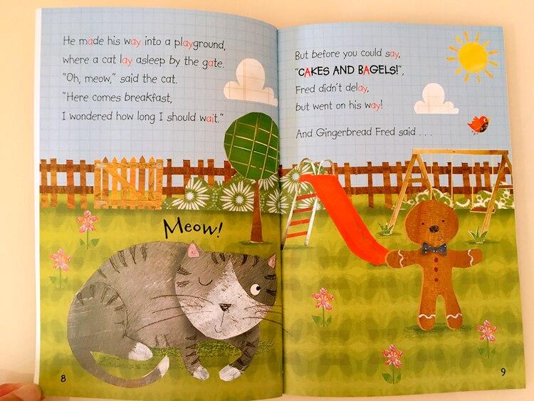 20 libros/juego de fonics, libro de cuentos de hadas inglés, capota roja para montar, Educación Temprana, libros de lectura en inglés para niños - 6