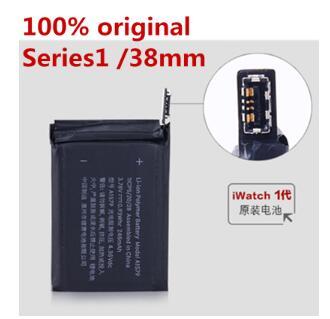 100% original a1578 bateria a1578 real 205 mah para apple assistir 38mm série 1 a15783 series1 38mm