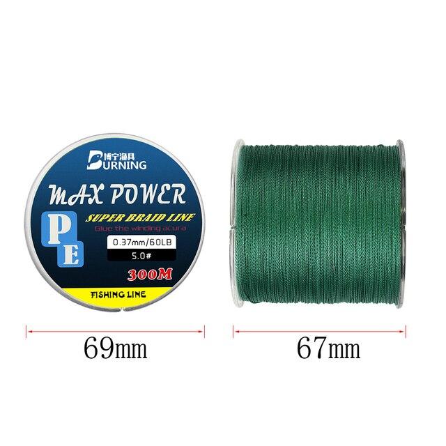 Best DNDYUJU 300M PE Fishing Line Fishing Lines cb5feb1b7314637725a2e7: gray 300M|green 300M|yello 300M