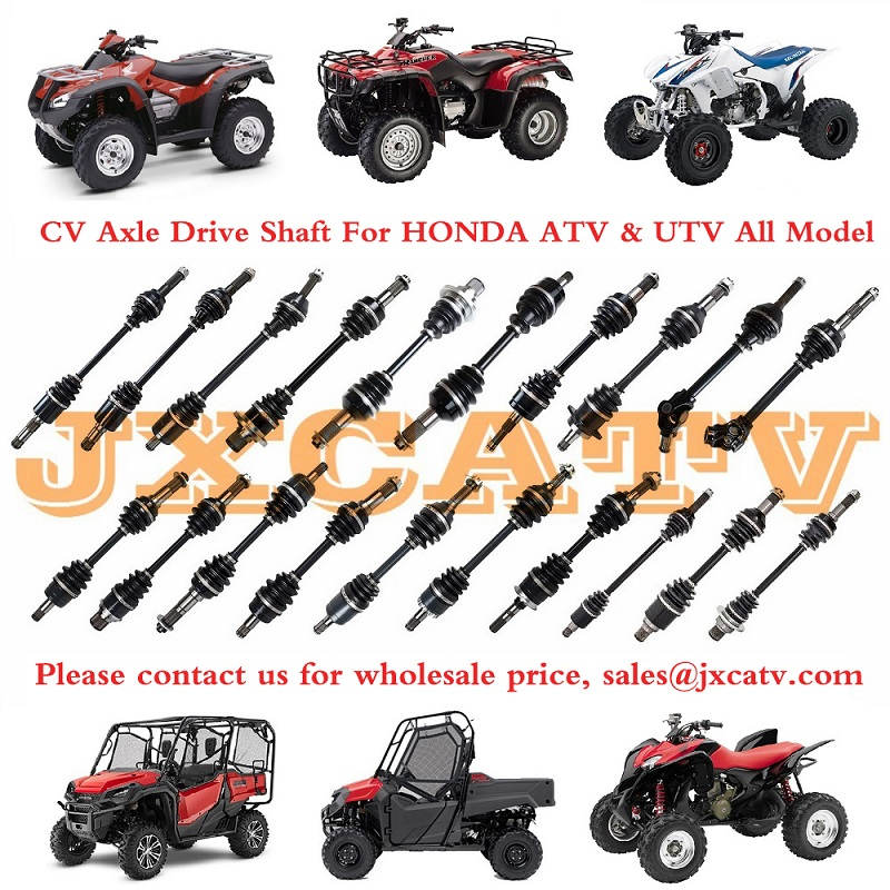 CV Boot Kit For 2007 Honda TRX500FM FourTrax Foreman 4x4 ATV~All Balls 19-5007