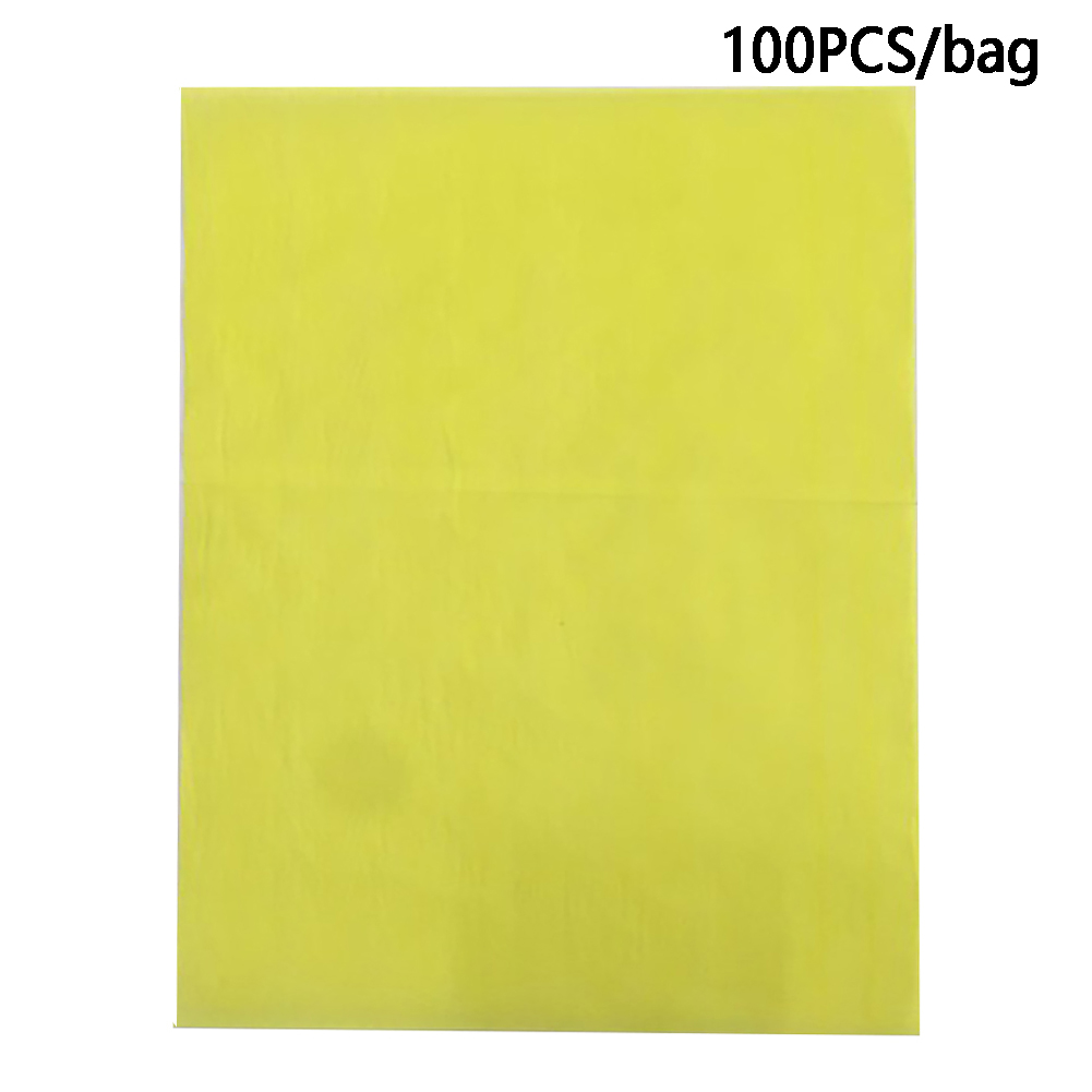 100pcs Reusable Embroidery Painting Fabric Drawing One Side A4 DIY Handmade Cloth Transfer Colorful Carbon Paper Multifunctional