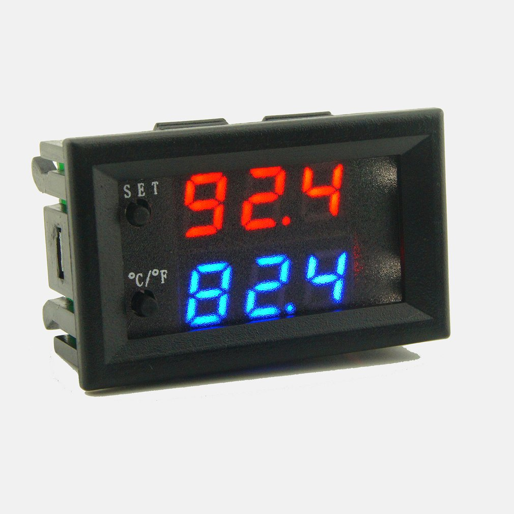 DC12V 20A Digitale Temperatur Controller DIY Smart <font><b>Mini</b></font> Thermostat Regler Intelligente <font><b>Thermometer</b></font> mit Wasserdichte Sonde image