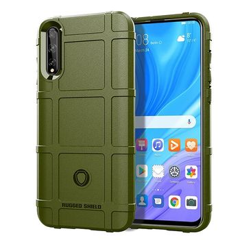 For Huawei P Smart S 2020 Case Rugged Armor Shockproof Back Cover For Huawei P Smart Plus 2019 / P Smart Z Plus Phone Case