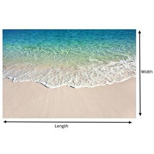 Image 5 - Custom Self adhesive Floor Mural Photo Wallpaper 3D Seawater Wave Flooring Sticker Bathroom Wear Non slip Waterproof Wall Papers