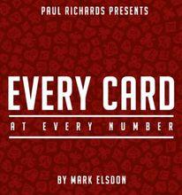 Todos os Cartões Em Cada Número por Mark Elsdon-truques de mágica