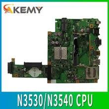 X453MA материнская плата для ноутбука N3530/N3540 CPU 4 ядра для ASUS X453MA X403MA X403M F453M тестовая материнская плата X453MA тест материнской платы ok