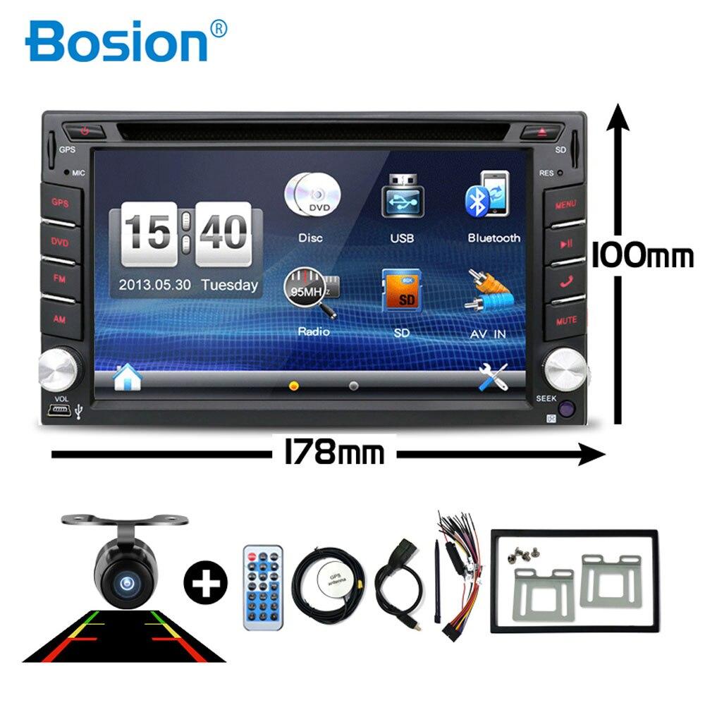 GPS Navigation Camera Dvd-Player Car-Radio Car Multimedia Universal Din 2-Din Double-2