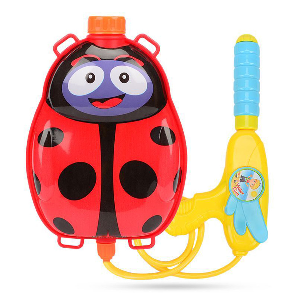 Cartoon Animal Water Spray Toy Backpack Children Long Range Beach Play Toy Squirt Toy Pistol Spray Water Gun Outdoor Toy