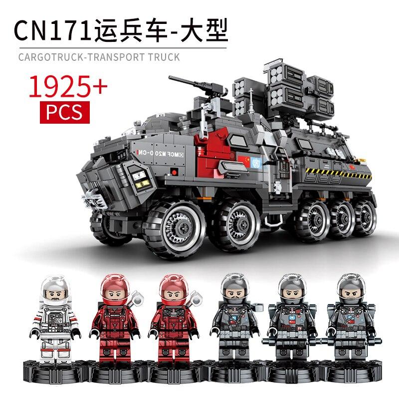 DHL Yeshin Stern Spielzeug Wars Die Chinesische Wandern Erde Soldat Träger Lkw Set Bausteine Ziegel Tank Spielzeug Modell Kinder spielzeug-in Sperren aus Spielzeug und Hobbys bei  Gruppe 1