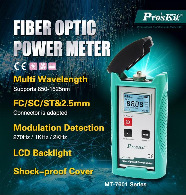 Dapts de mètre de puissance optique de Fiber aux connecteurs de FC/SC/ST pour six différentes longueurs d'onde du testeur de perte de source de fibre