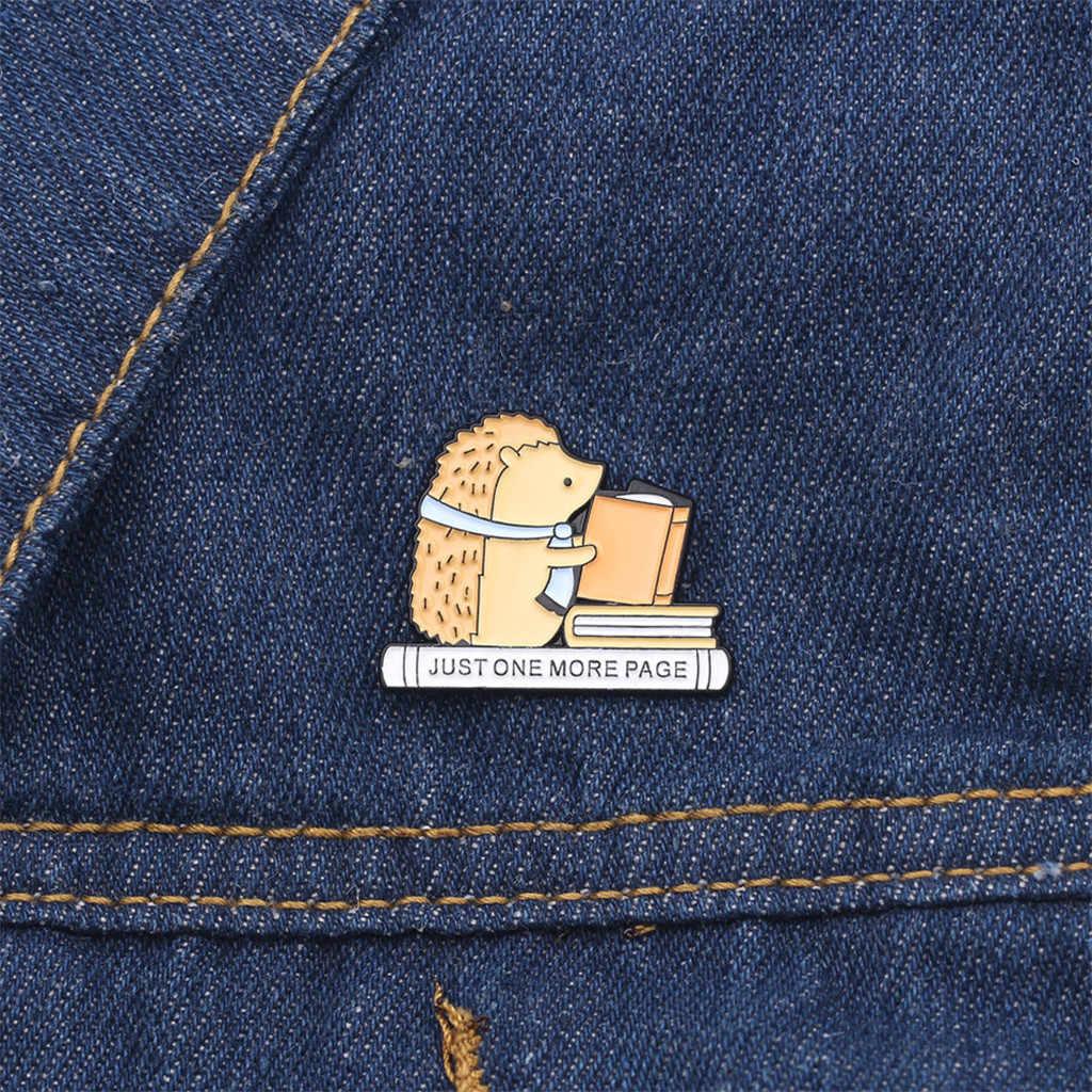 Carino Risvolto Spilli Freddo Dichiarazione Spilla Distintivi e Simboli per Zaini Vestiti Giubbotti Cappelli In lega di Zinco e vernice materia Spilla 100% nuovo