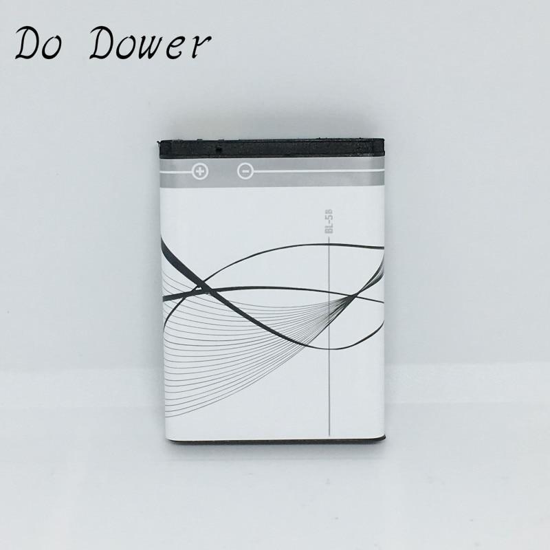 Do Dower 890mAh BL 5B BL-5B Battery For Nokia 5300 5320 N80 N83 6120C 7360 3220 3230 5070 BATTERY BL5B
