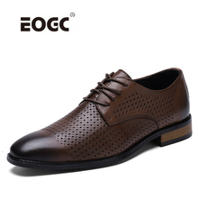 Vintage Retro Shoes Men Genuine Leather Luxury Handmade Office Formal Wedding Shoes Breathable Mesh Party Mens Dress Shoes christia bella fashion handmade formal mens dress shoes genuine leather spikes studded zebra men s evening wedding party shoes