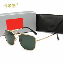 2019 New Style Polarized Sunglasses Couples Fashionable Sunglasses Driver Driving High-definition Sunglasses 8136