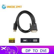 INIOICZMT محول DP إلى DVI ، كابل محول 1.8 متر ، محول DP إلى DVI ، منفذ Displayport إلى DVI ، لـ Dell ، Asus