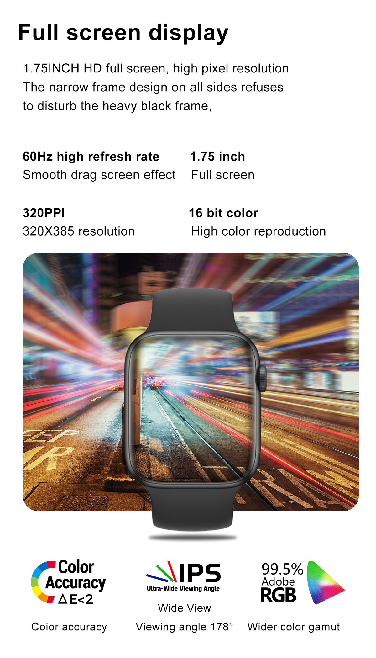 IWO 13 Pro DT100 Smartwatch Man Woman Bluetooth Call 1.75 Inch HD Full Screen Torntisc Women Smart Watch Dynamic Dial for Men