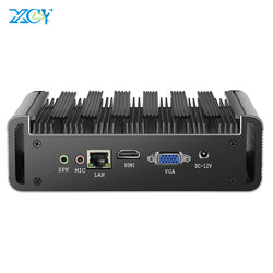 Мини-ПК XCY, Intel Core i7 7500U i5 7200U i3 7100U DDR3L RAM mSATA SSD HDMI VGA 6xusb двухдиапазонный WiFi Bluetooth 4,0 Windows 10
