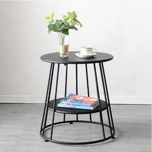 Скандинавские журнальные столы для гостиной современный небольшой круглый стол мебель минимализма кофе Настольный поднос для чая железная европейская мебель