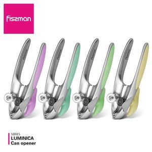 Image 1 - Fissman Luminica Series Chrome Matt finished Zinc Alloy Tin Can Opener with Rubber Grip